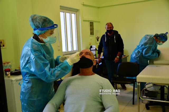 Ναύπλιο: Rapid test σε υπαλλήλους των κοινωνικών δομών το Δήμου