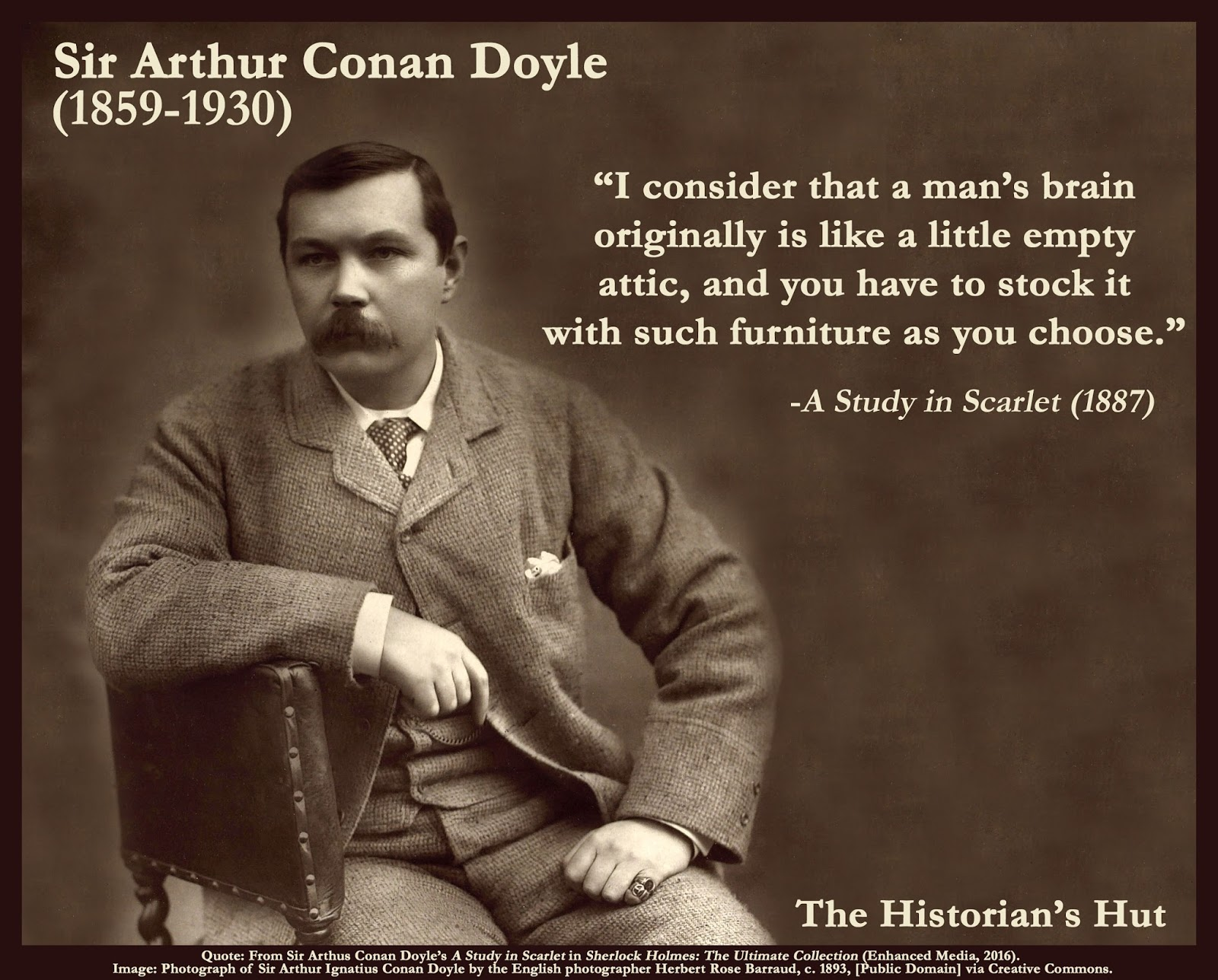 The Historian S Hut Quote Pictures Sir Arthur Conan Doyle