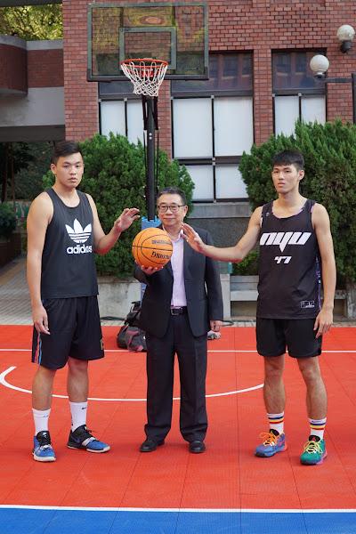 大葉大學校長盃3對3籃球賽 梁卓中開球揭序幕