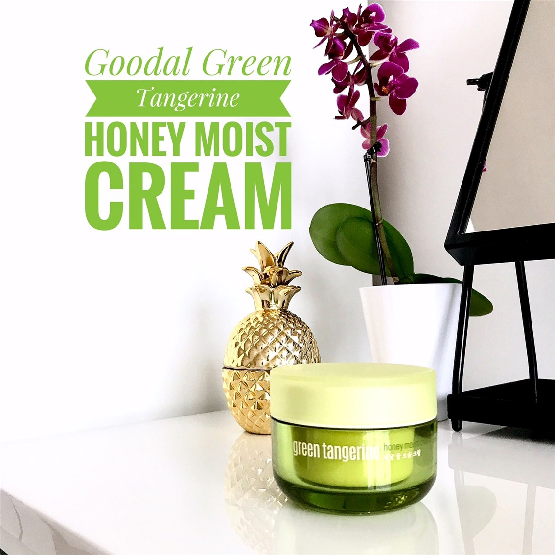 zdjęcie przedstawiające krem Goodal Green Tangerine Honey Moist Cream
