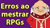 Vícios ao mestrar RPG que podem prejudicar o seu jogo! (Bate-papo Vinzaum, do Game Chinchila)