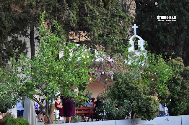 Πανηγυρικός εσπερινός των Αγίων Πέτρου και Παύλου στο ιστορικό εκκλησάκι του Ναυπλίου