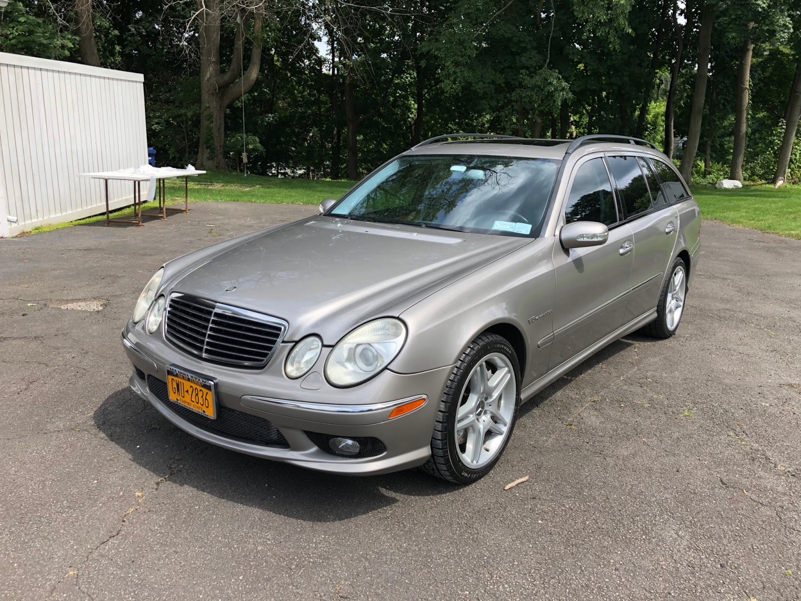 MERCEDES BENZ E55 AMG WAGON 2005