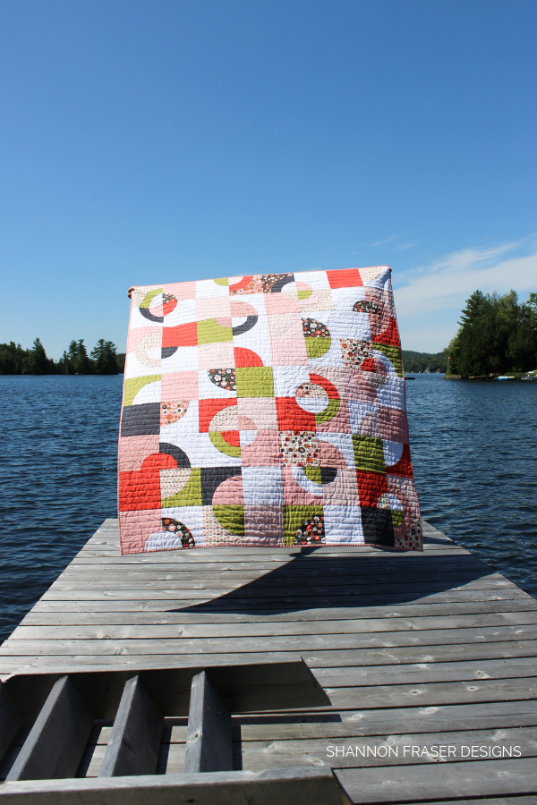 Ecliptic Quilt in the Wild | featured in Love Patchwork & Quilting Magazine Issue 71 | Shannon Fraser Designs