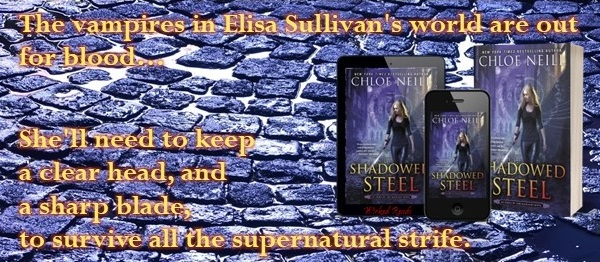 The vampires in Elisa Sullivan's world are out for blood… She'll need to keep a clear head, and a sharp blade, to survive all the supernatural strife.