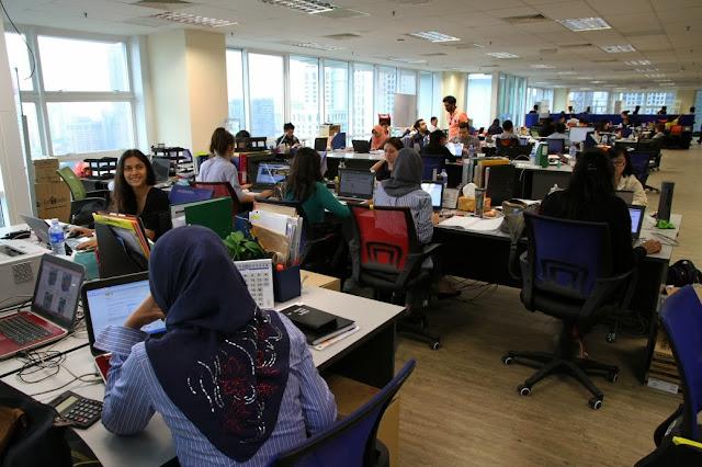 Lazada Malaysia new office in Kuala Lumpur