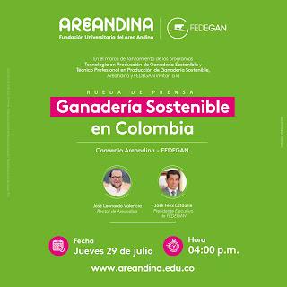 hoyennoticia.com, Areandina y Fedegan lanzan programas de ganadería sostenible