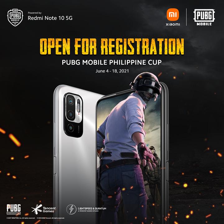 Xiaomi Redmi Note 10 5G Powers PUBG Mobile Philippine Cup
