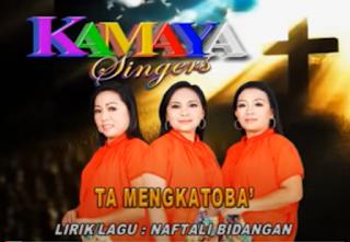 Lirik Lagu Toraja Ta Mengkatoba' - Kamaya Singers