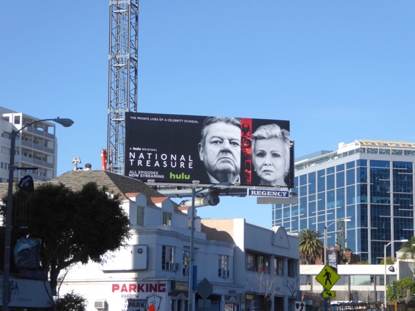 National Treasure Hulu series billboard