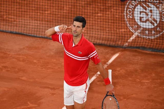 Novak Djokovic chega a sua sexta final de Roland Garros