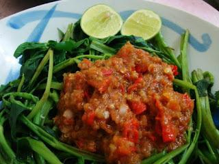 Makanan Khas Indonesia, Plecing Kangkung, Plecing Ayam