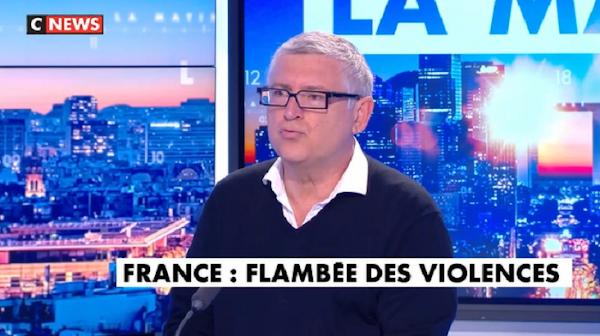 POUR MICHEL ONFRAY, LA FRANCE EST EN «GUERRE CIVILE»