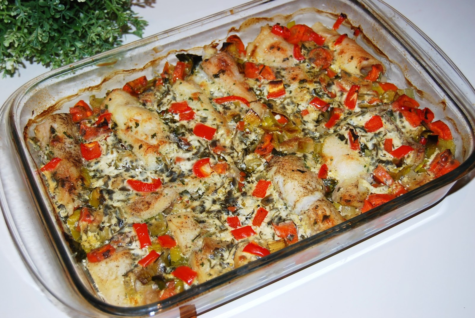 O Kuchni Z Uczuciem Ryba Zapiekana Z Warzywami