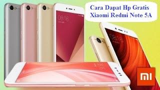HP Gratis Xiaomi Redmi Note 5A