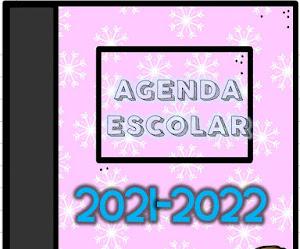 Agenda escolar 2021–2022 Editable