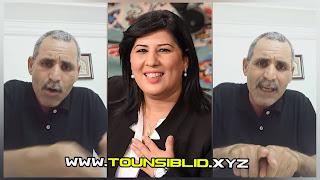 (بالفيديو و صور) فيصل التبيني حتى كان عبير موسي صادقة هؤلاء اخطر من النهضة وجماعتها