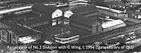 G Wing in Boggo Road Gaol's No.1 Division, Brisbane, 1954.