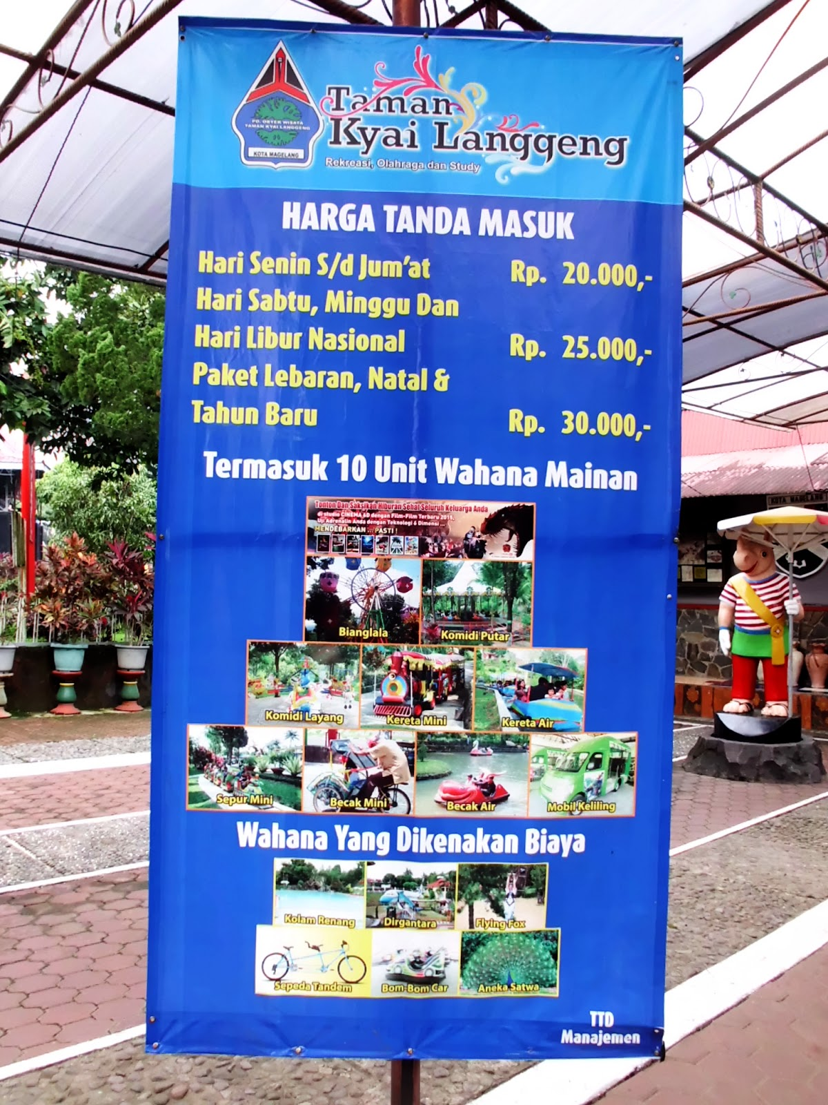 NglayapCah : Taman Kyai Langgeng Magelang