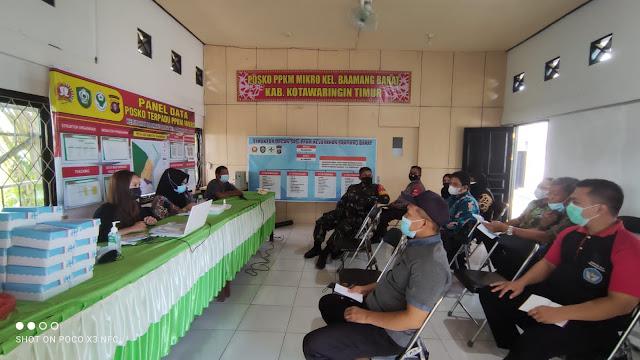 Bhabinkamtibmas Baamang Barat hadiri Kegiatan Focus Group Discussion (FGD) ke-1 di Kelurahan Baamang Barat