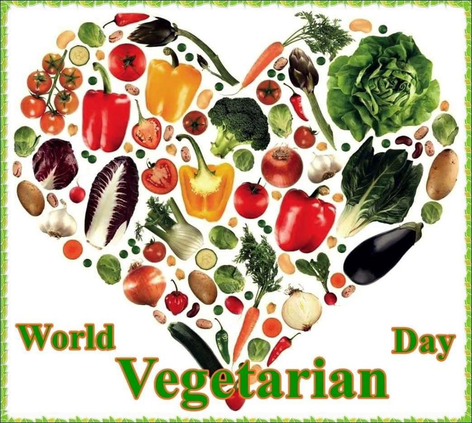 World Vegetarian Day Wishes Unique Image