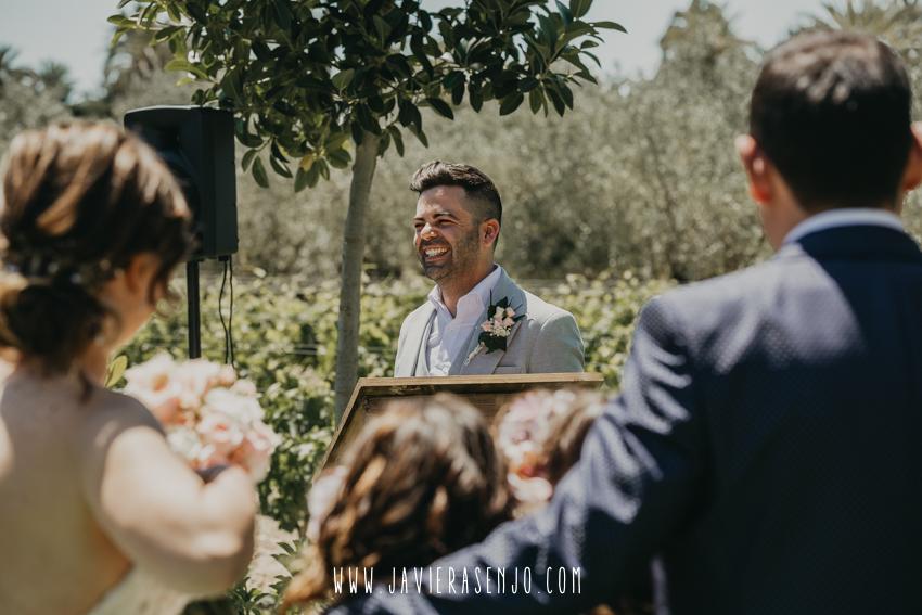 El Roalet de Kiko ceremonia de boda en Elche