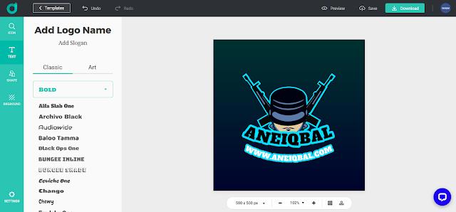 buat logo esport online gratis