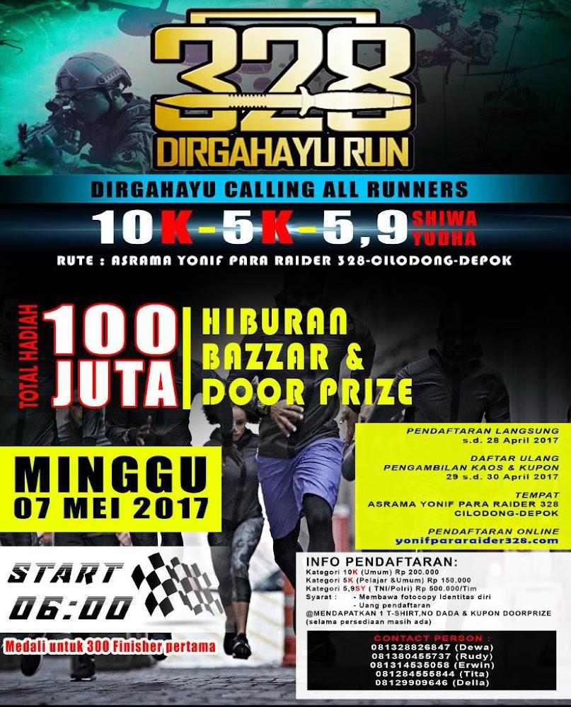 328 Dirgahayu Run • 2017
