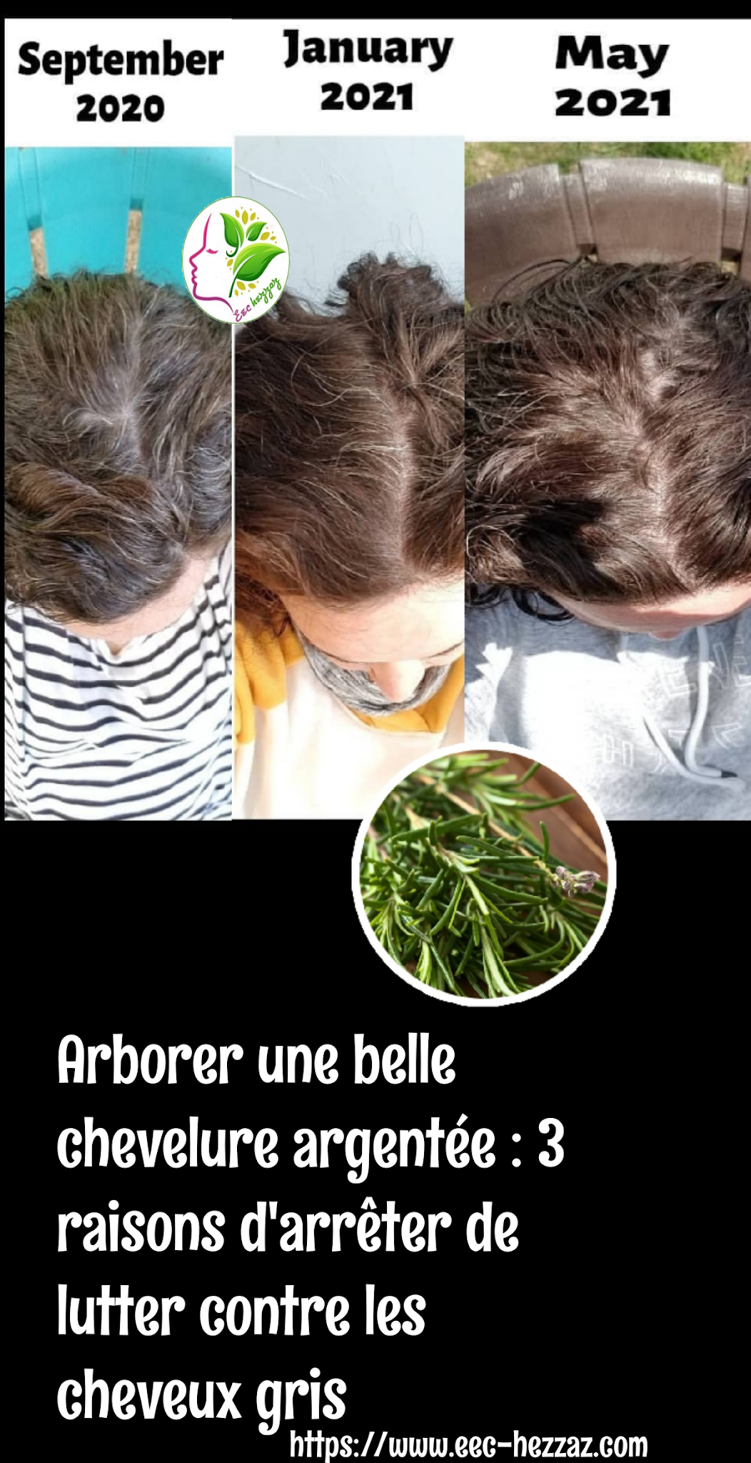 Arborer une belle chevelure argentée : 3 raisons d'arrêter de lutter contre les cheveux gris