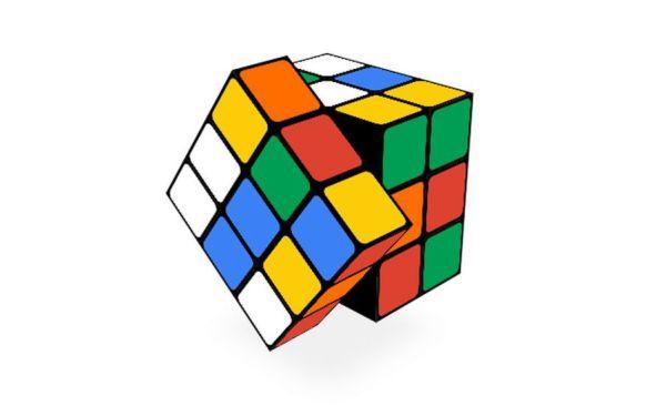 Best Google Doodle Games Rubik's cube