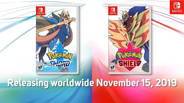 Pokémon Sword e Shield Boxart