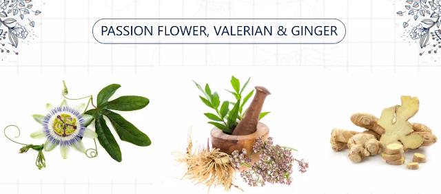 herbal formula passion flower, valerian dan jahe untuk atasi gangguan tidur