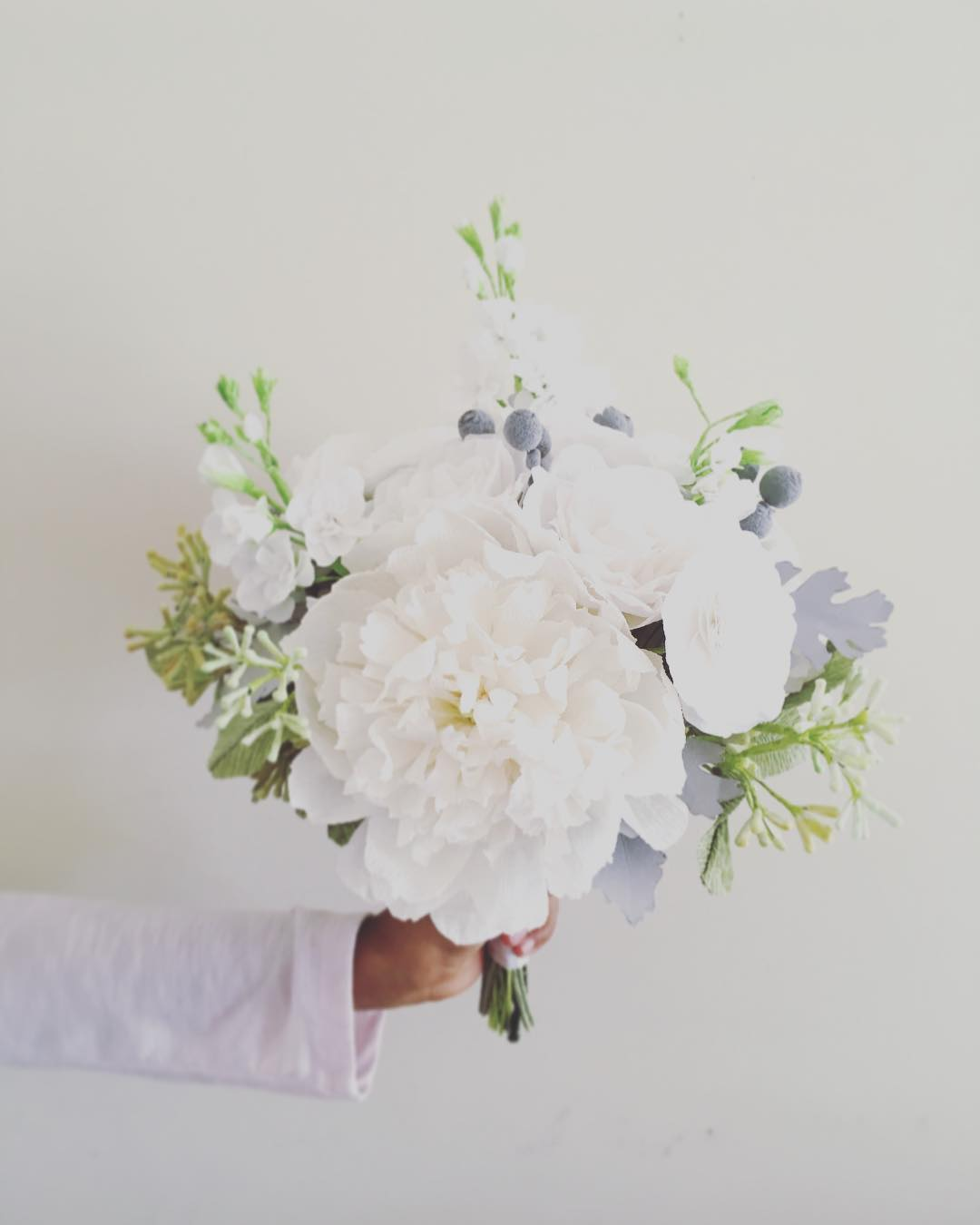 Handmade paper flowers by maria noble paper flowers izmirmasajfo Choice Image