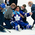 Video: Maple Leafs John Tavares Knocked Out, Stretchered Off in Game 1
