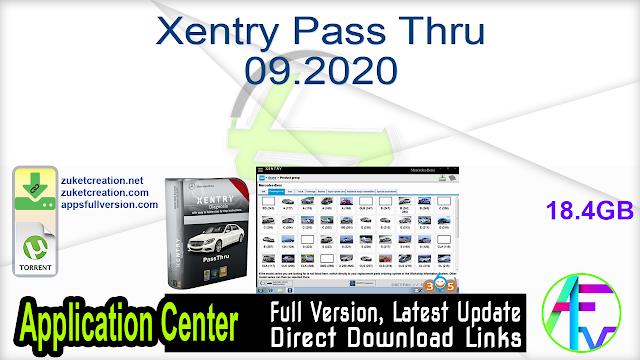 Xentry Pass Thru 09.2020