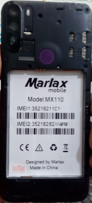 MARLAX MX110 FLASH FILE FIRMWARE STOCK ROM