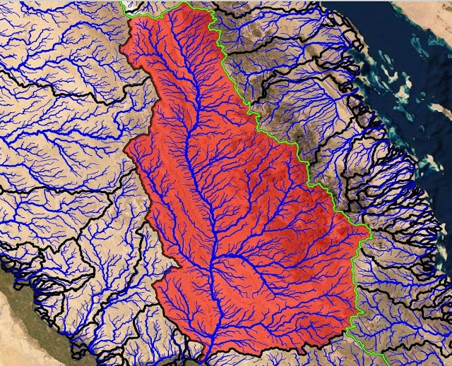 Download Drainage Analysis Shapefile Dataset for Eastern Desert of Egypt
