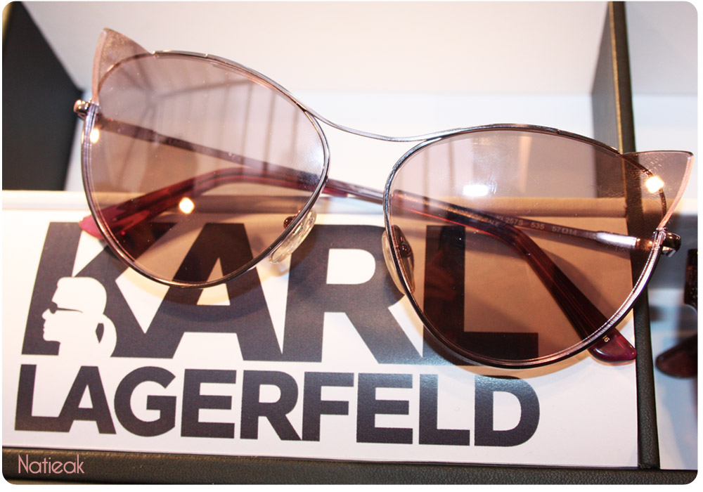 Karl Lagerfeld solaire Choupette cat eye