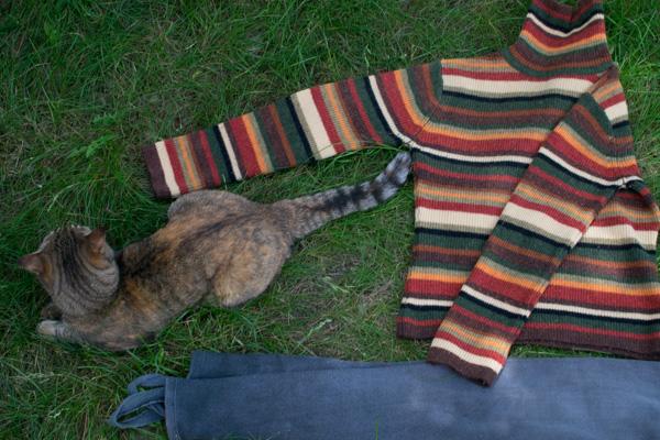 лежак для кота своими руками