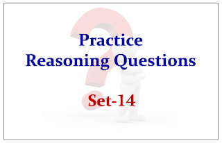 Practice Reasoning Questions Set-14