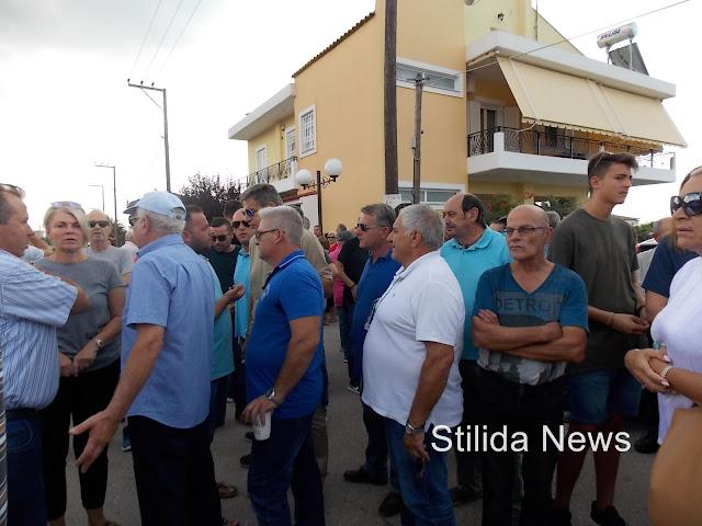 Συγκέντρωση διαμαρτυρίας κατά της εγκατάστασης HOT SPOTS προσφύγων