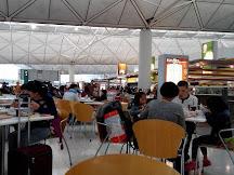 香港機場美食廣場食物價格