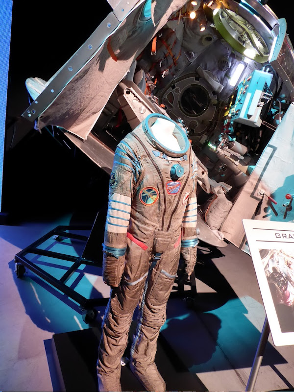 Sandra Bullock Gravity pressure suit