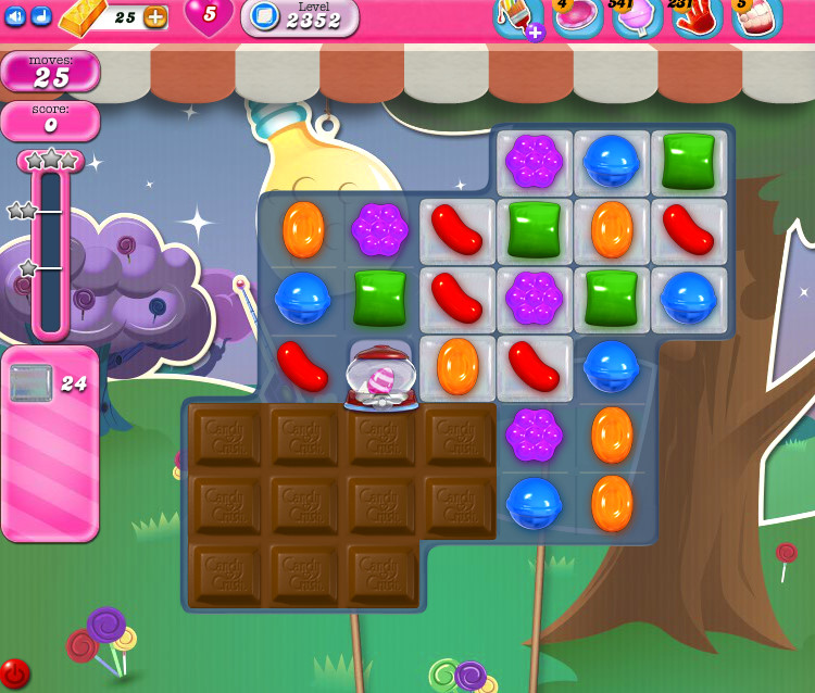 Candy Crush Saga level 2352