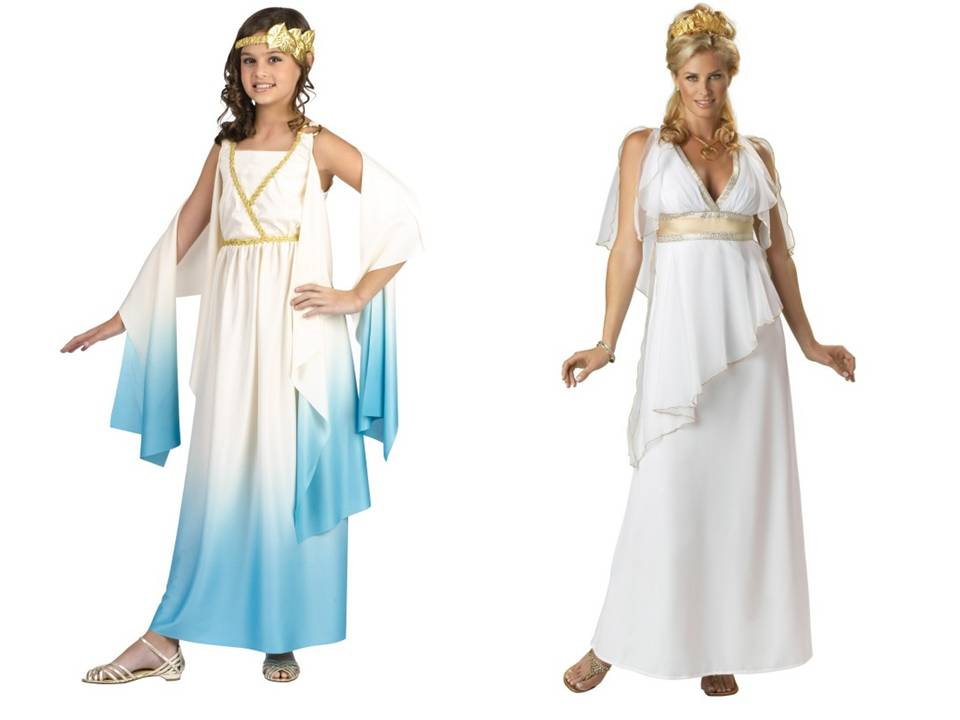 Diy Greek Goddess Costume Accessories Mommy Practicality