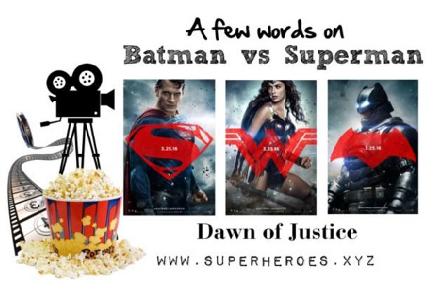 Batman vs Superman Graphic