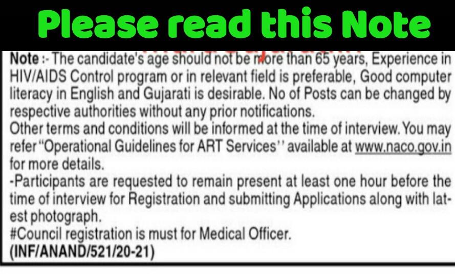 Anand , General Hospital Recruitment 2021 -  Medical Officer , Staff Nurse Recruitment 2021
