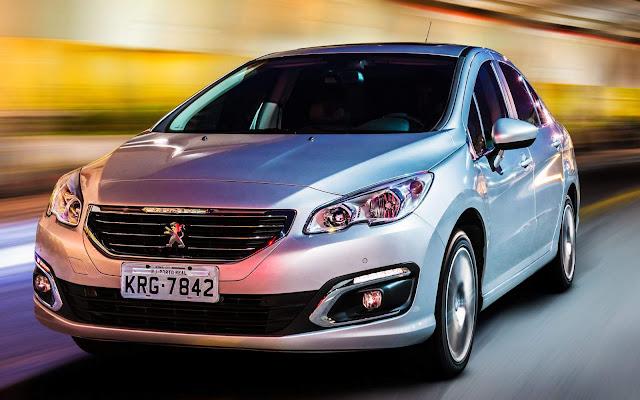 Peugeot 408 - 2º carro menos vendido do Brasil