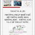 BÀI GIẢNG - Phương pháp thiết kế hệ thống điều hòa không khí - Thông gió và cấp thoát nước (Nguyễn Thanh Hào)