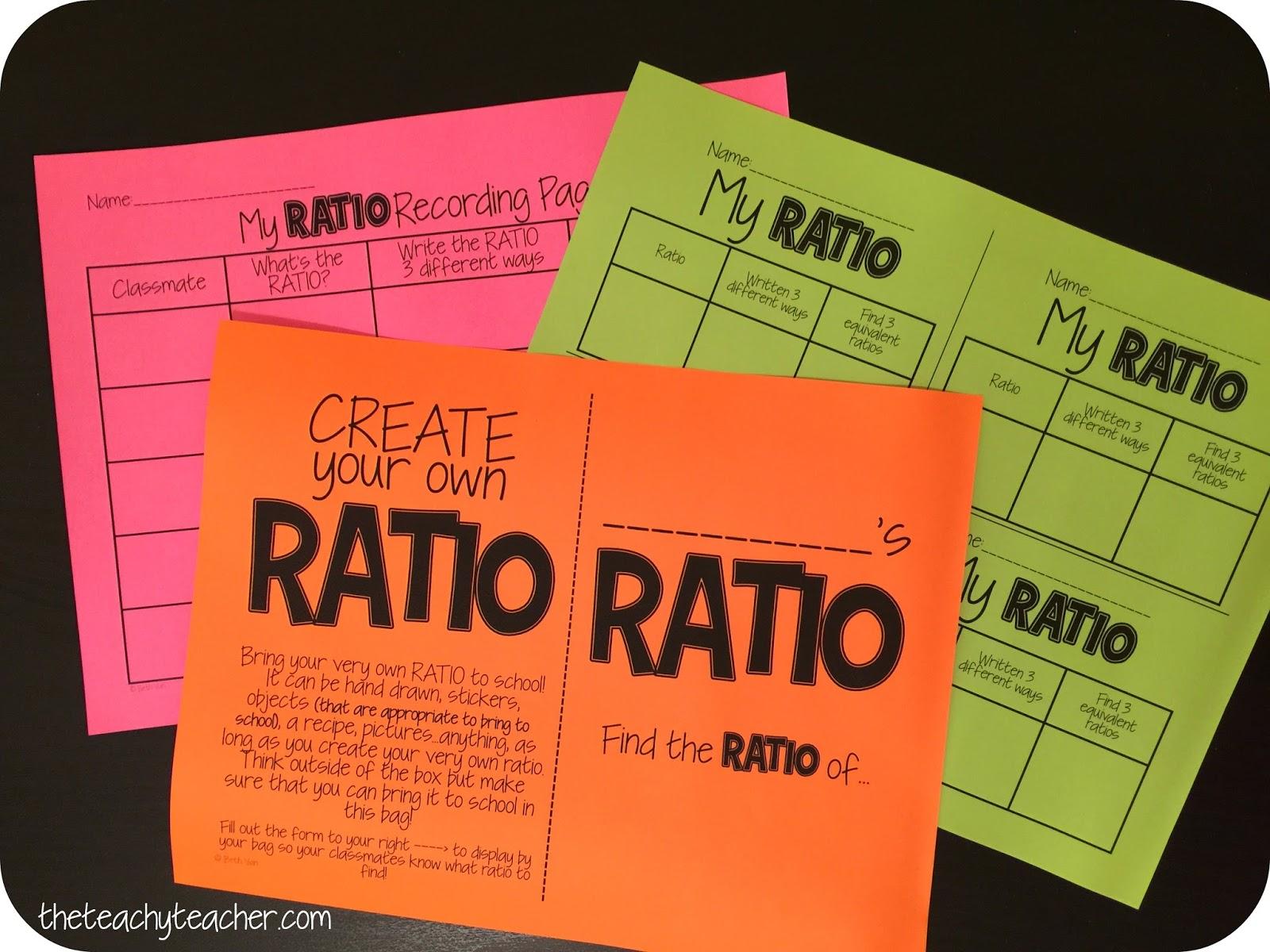 Theteachyteacher Create Your Own Ratio